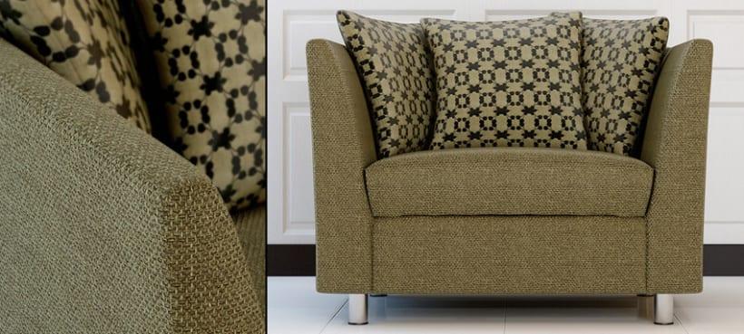 Diseño de mobiliario y textil para empresa del sector. 1