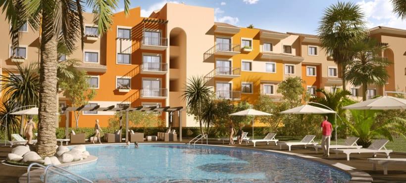 3D residencial Marruecos 1
