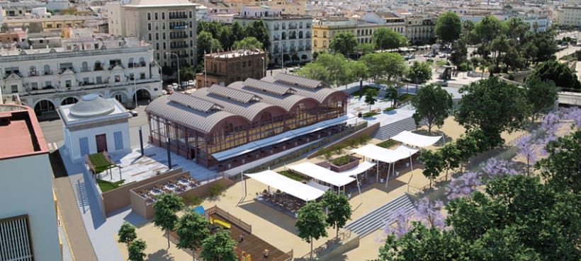 Fotomontaje 3D Sevilla 1
