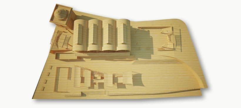 Fotomontaje 3D Sevilla 5