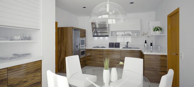 Diseño interior cocina 1