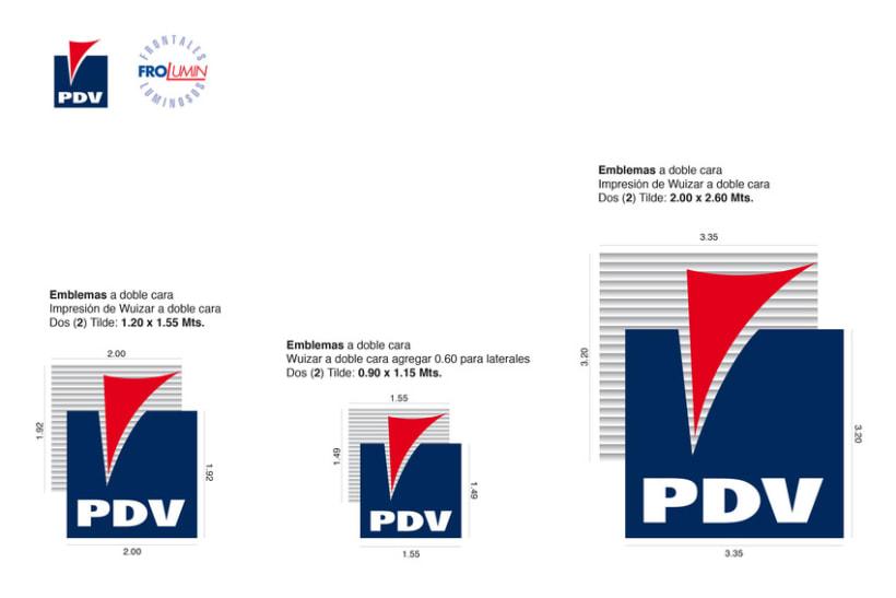 Identidad corpórativa PDV Exteriores 1