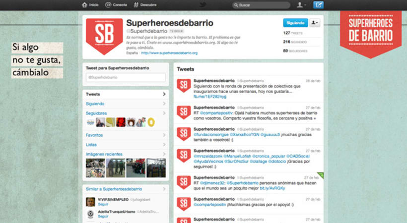 Superhéroes de Barrio 4
