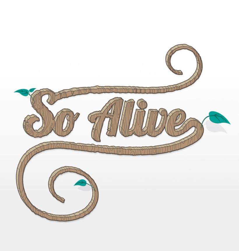 So Alive (lettering) 2