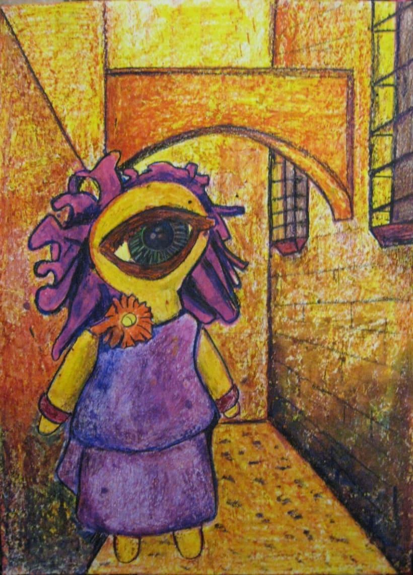 Ilustraciones con Ceras de Colores 3