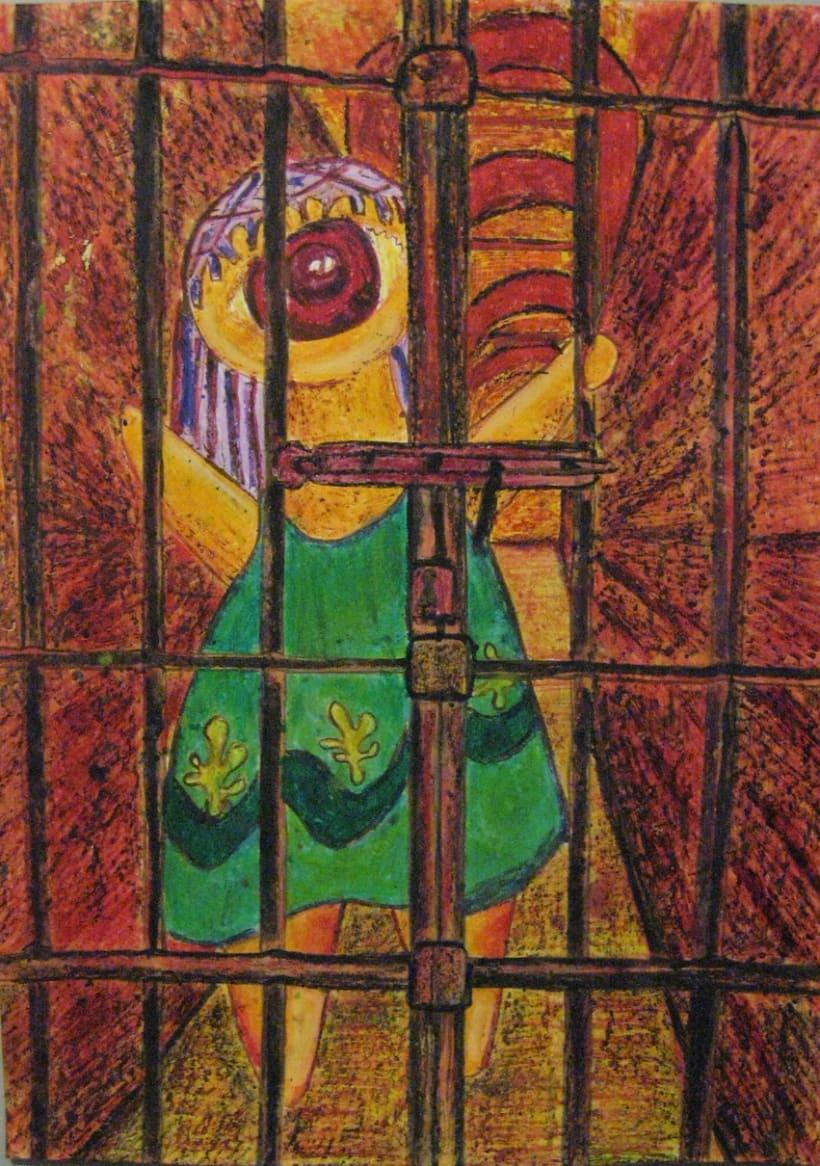 Ilustraciones con Ceras de Colores 2