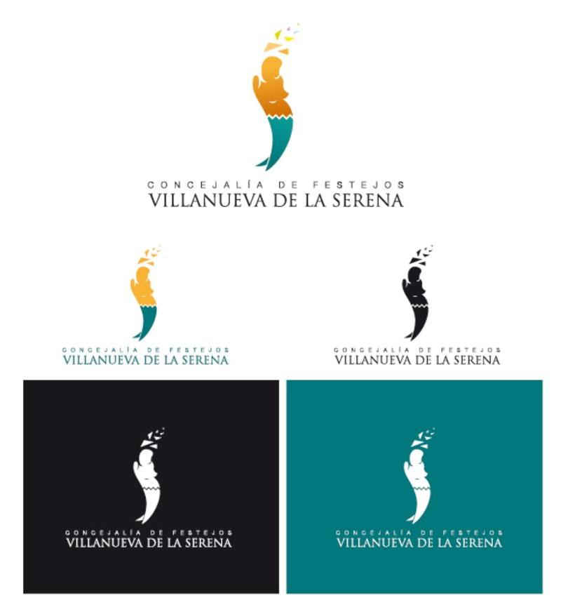 Logo Concejalía de Festejos de Villanueva de la Serena 3