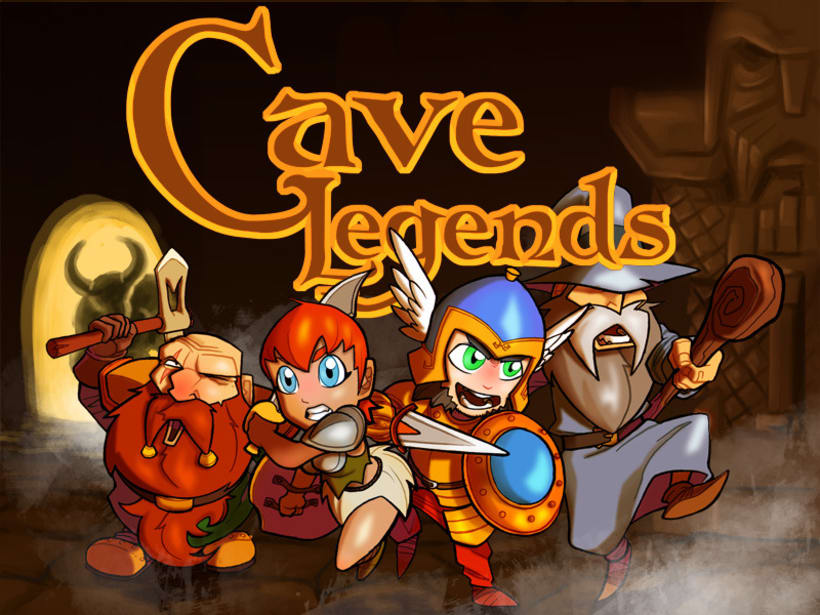 Juego Android. Cave Legends 1