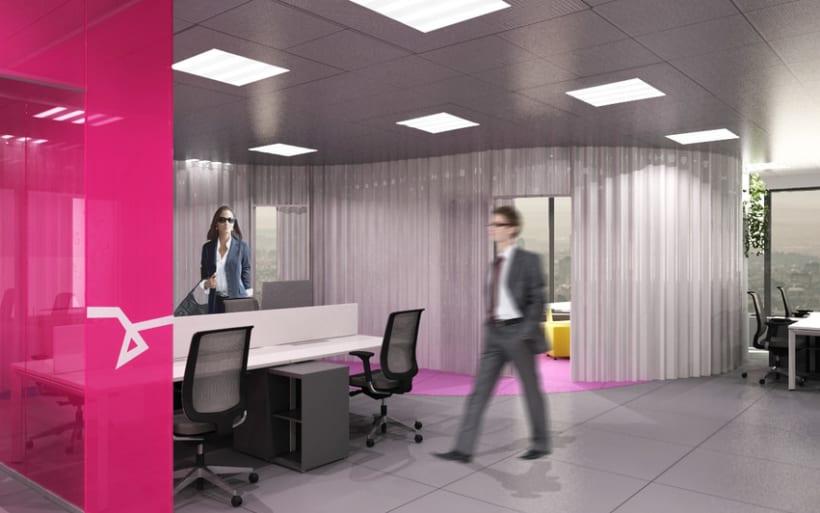 Concurso dise o oficinas domestika for Decoracion de oficinas creativas