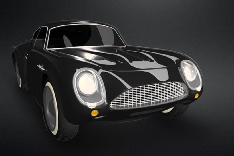 3D Aston Martin 2
