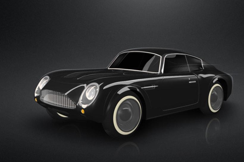 3D Aston Martin 1
