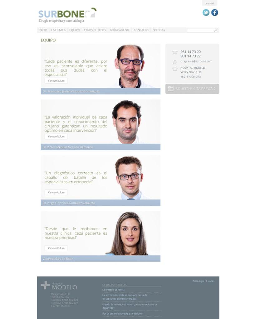 Desarrollo WEB: Surbone 3