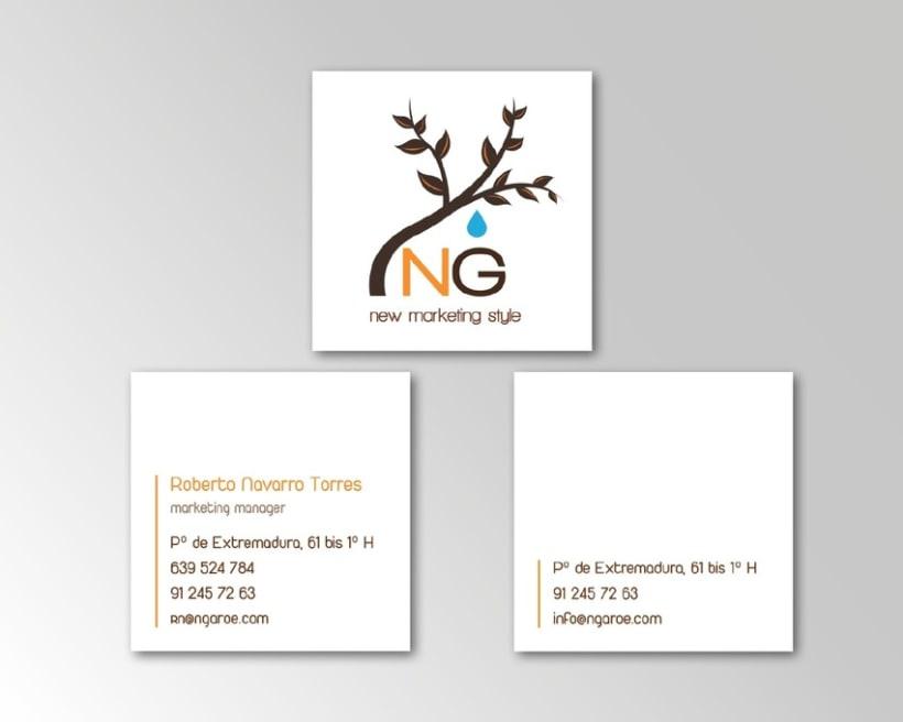 Dise o tarjetas de visita domestika - Disenos para tarjetas ...