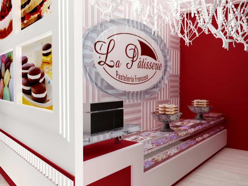 Dise o de pasteler a domestika for Diseno de cocinas francesas