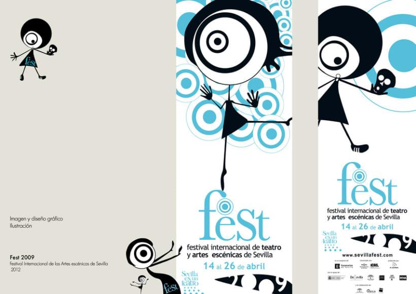 Imagen y diseño Fest 2009 1