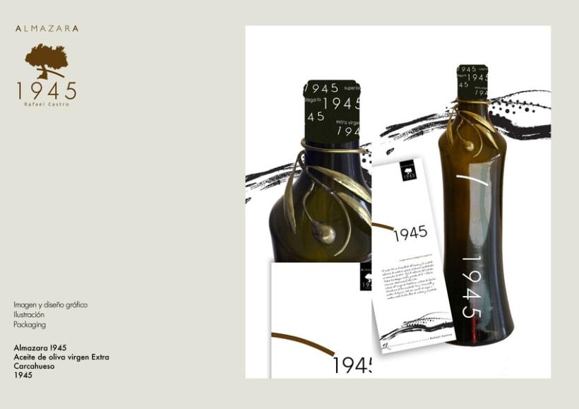 Edición limitada Aceite de Oliva Virgen Extra 1945 1