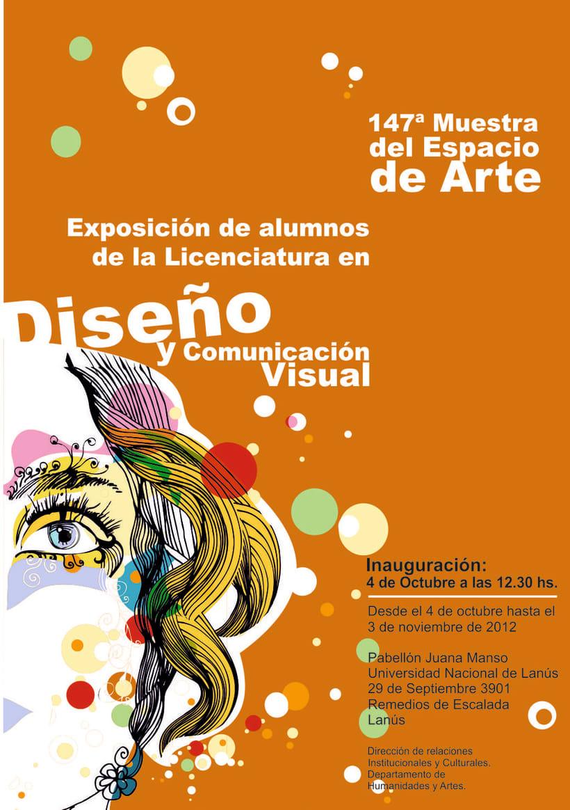 Afiches publicitarios de interior (Muestras) 1