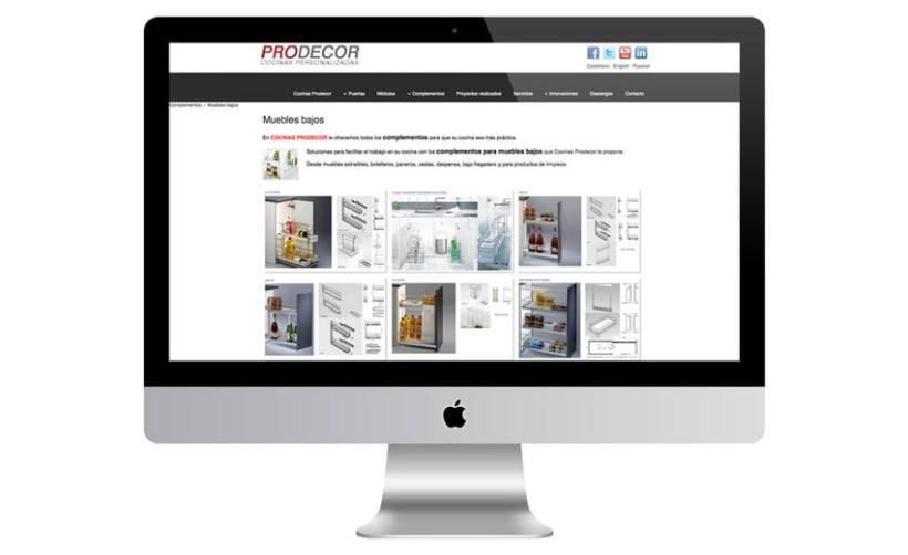 Web Cocinas Prodecor 5