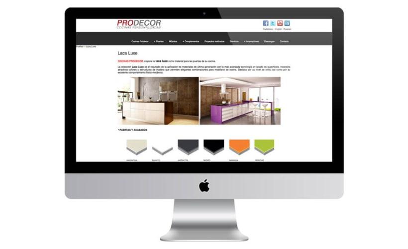 Web Cocinas Prodecor 3