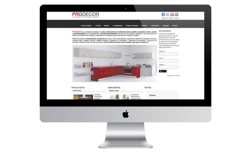 Web Cocinas Prodecor 2