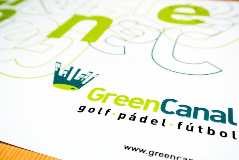 GreenCanal Golf Club. Folders, Brochures. 1