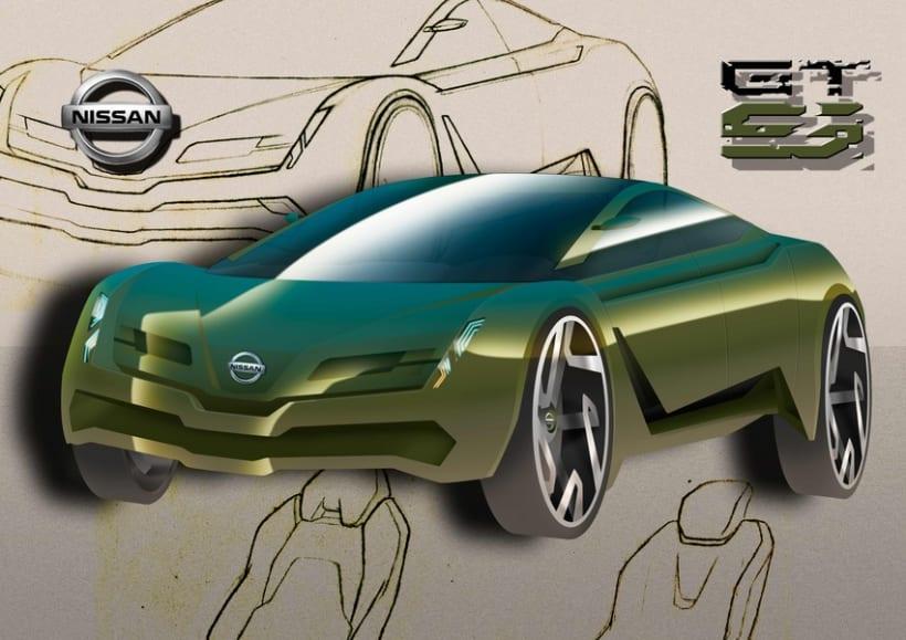Finalista Concurso AUTOPISTA - UPV - NISSAN Diseño Automóvil. 1