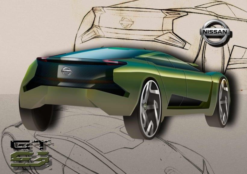 Finalista Concurso AUTOPISTA - UPV - NISSAN Diseño Automóvil. 2