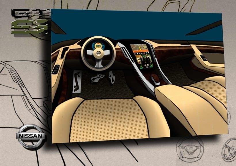 Finalista Concurso AUTOPISTA - UPV - NISSAN Diseño Automóvil. 3
