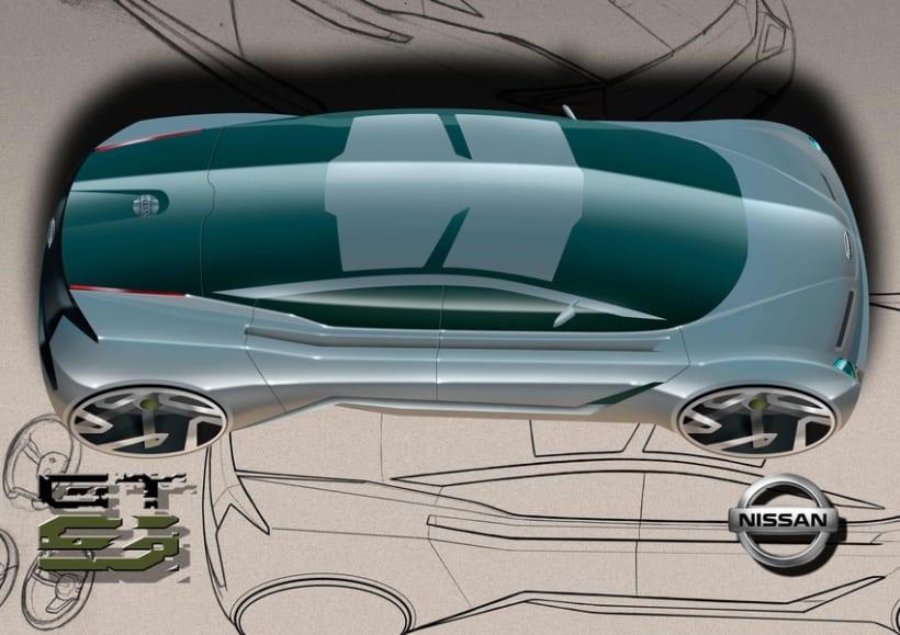 Finalista Concurso AUTOPISTA - UPV - NISSAN Diseño Automóvil. 4