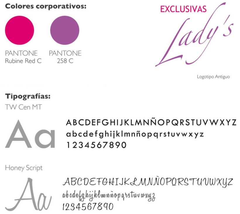 Restyling de Logotipo LADY'S 3