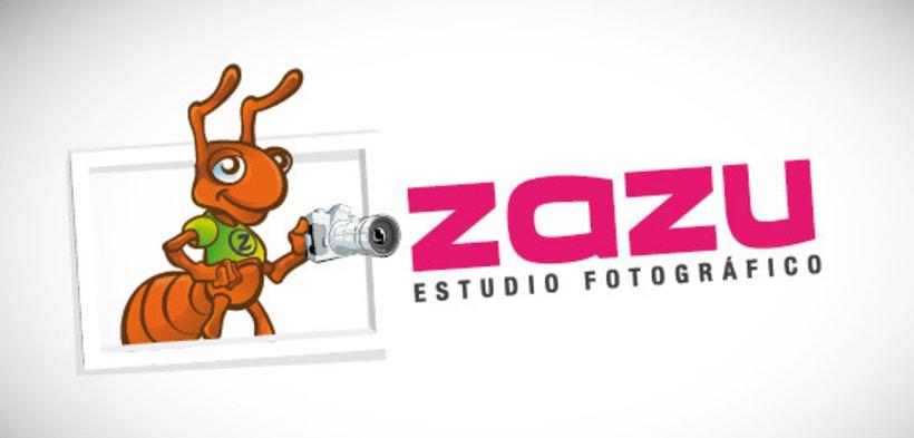 Logotipo Zazu - Estudio fotográfico 1