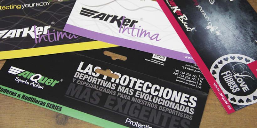 Arquer Europe sl. Protecciones deportivas 7