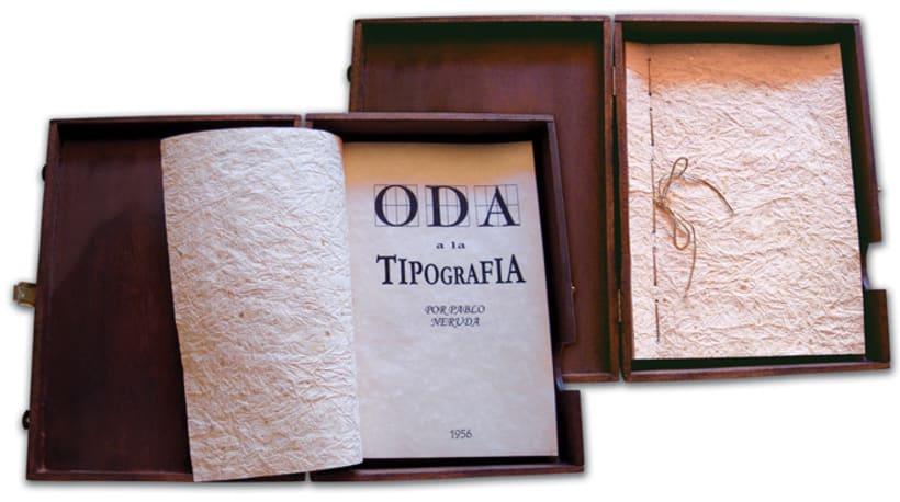 ODA A LA TIPOGRAFÍA 4