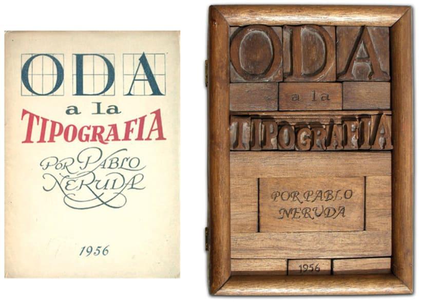 ODA A LA TIPOGRAFÍA 3