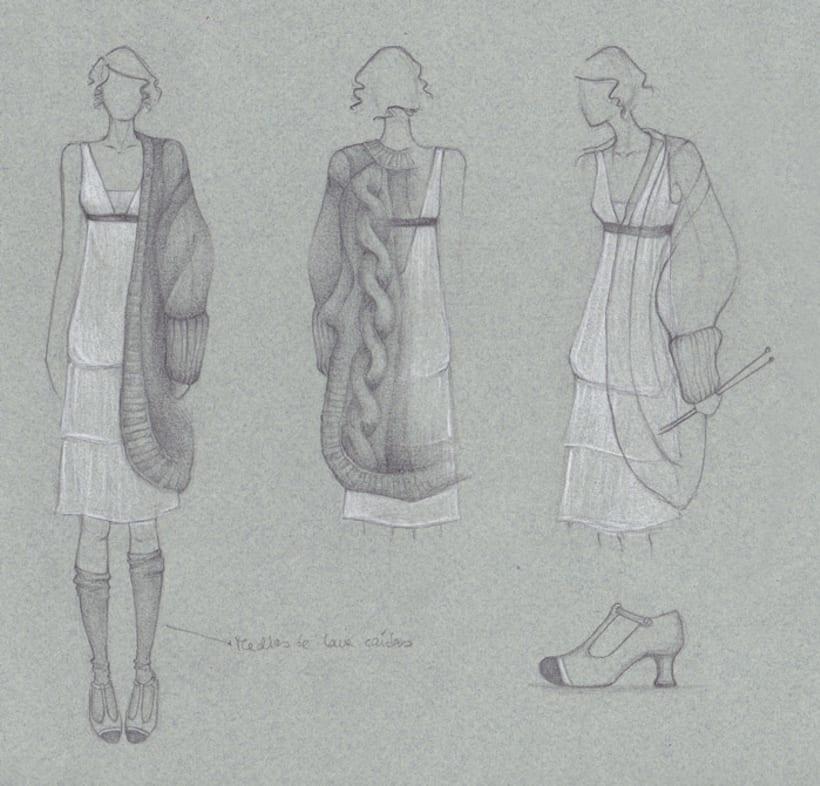 Ilustración de Moda 5