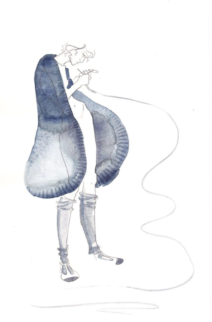 Ilustración de Moda 4