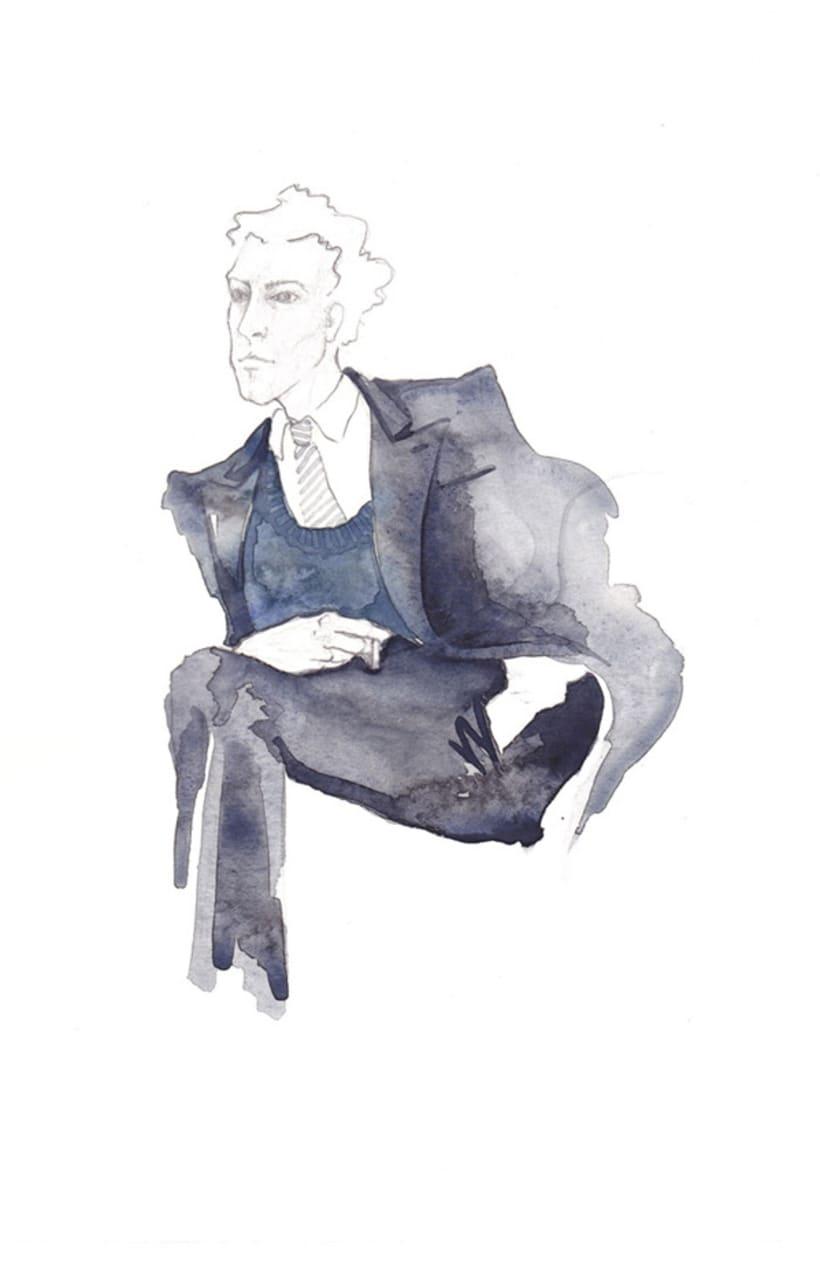 Ilustración de Moda 3