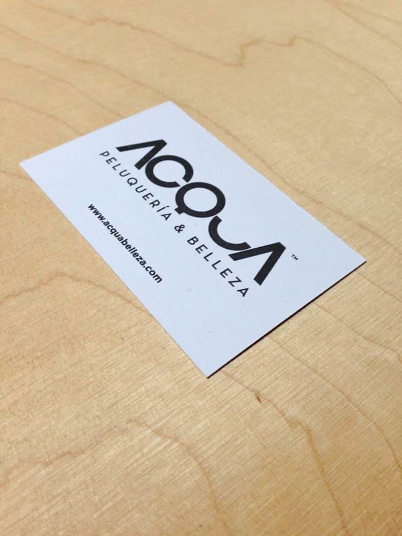Tarjeta de descuento en ropa de niños para ACQUA | Peluquería & Belleza 2
