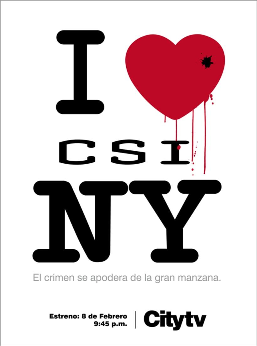 I love CSI:NY 4