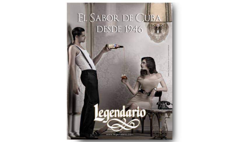 Campaña Ron Legendario 2008-2010 2