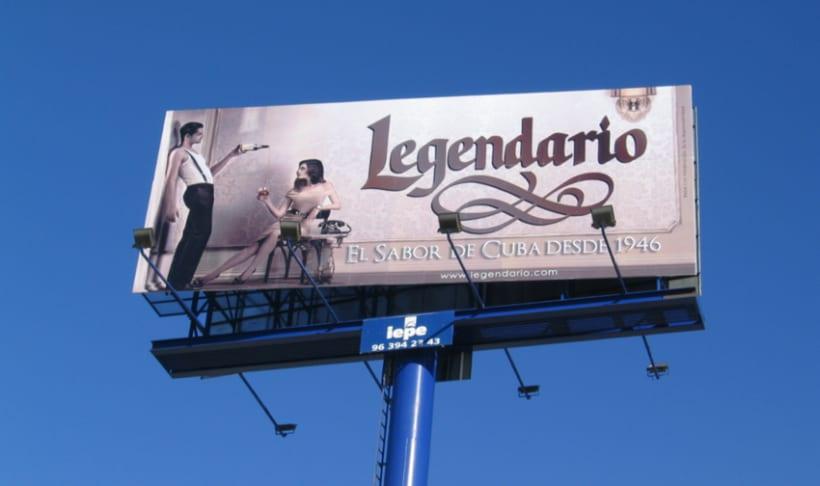 Campaña Ron Legendario 2008-2010 3