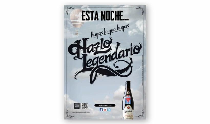 Campaña Ron Legendario 2012-2013 3