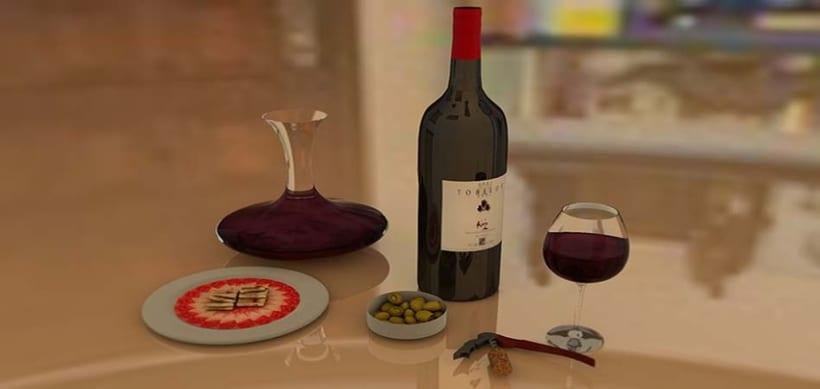 Comida  y Bebida 3D 21
