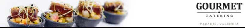 Rediseño marca Gourmet Catering Valencia 2