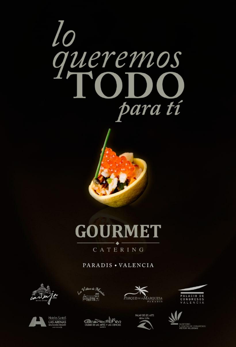 Rediseño marca Gourmet Catering Valencia 7