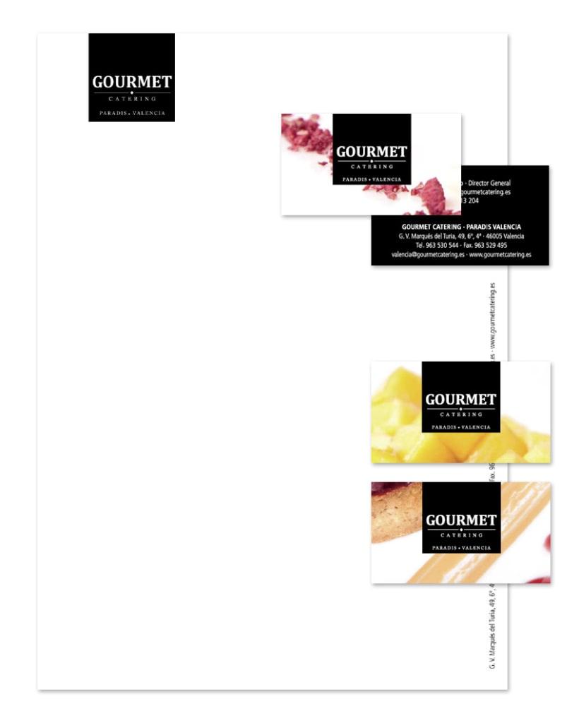 Rediseño marca Gourmet Catering Valencia 3