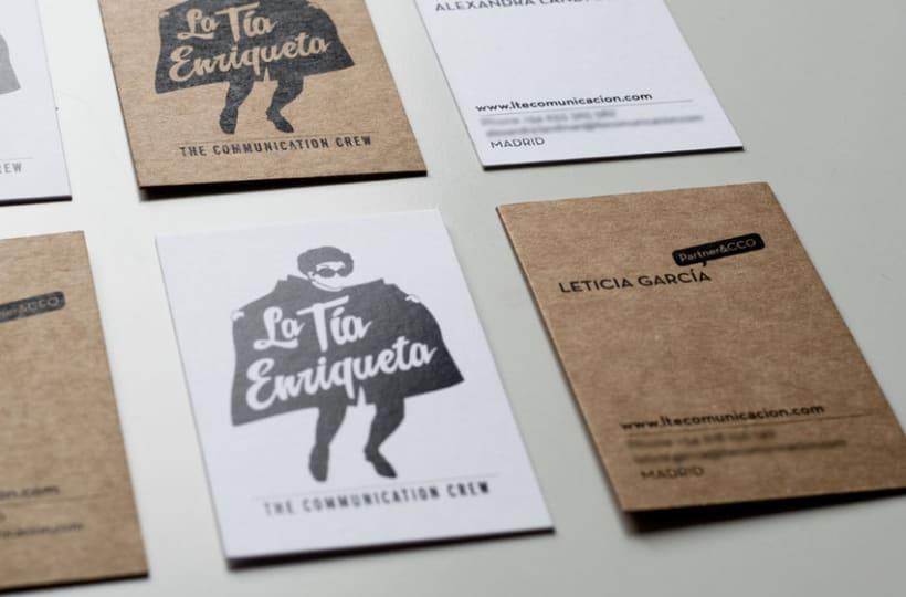 LA TÍA ENRIQUETA. Identidad Visual 4