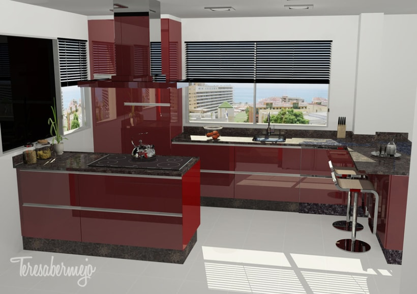 Cocina en Mera 2