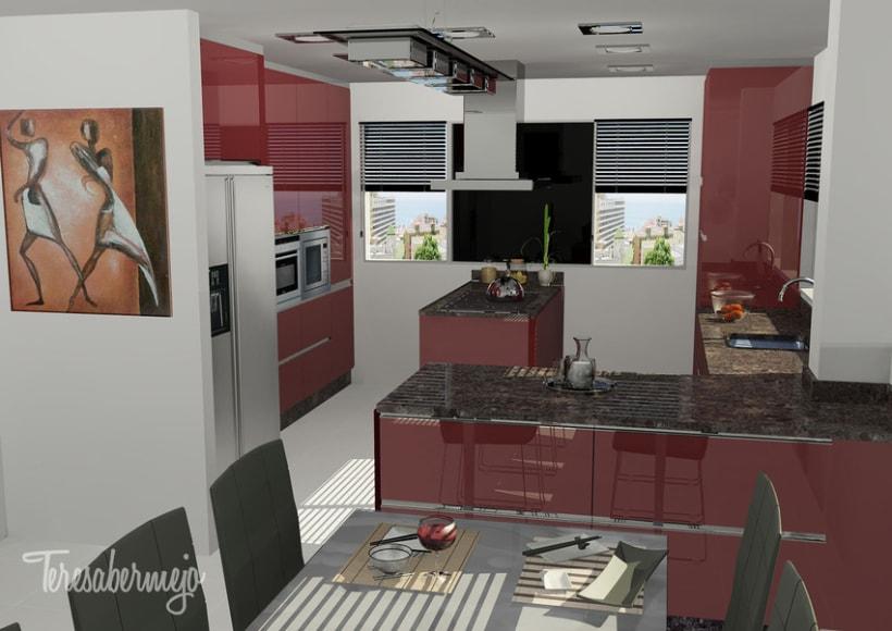 Cocina en Mera 3