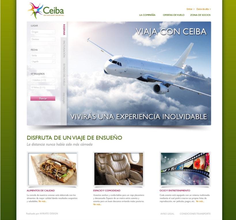 Ceiba website 2